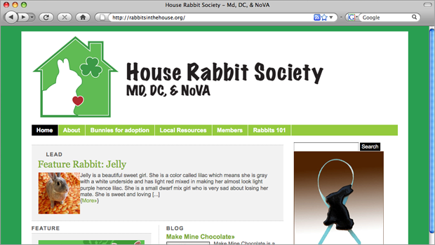 In Use on Web Site